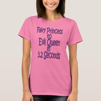 Feenhafte Prinzessin zur schlechten Königin in 3,2 T-Shirt