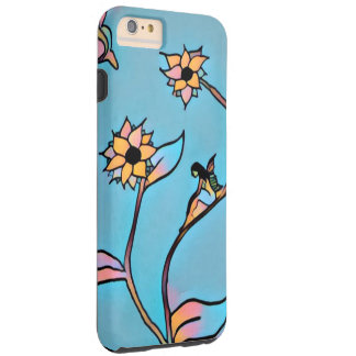 Feenhafter Blume iPhone 6 Fall (blau) Tough iPhone 6 Plus Hülle
