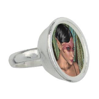Feenhafter Schmetterling Foto Ring