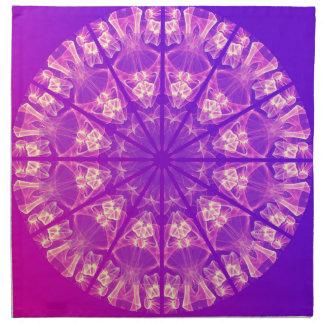 Feenhafter Spitzemandala-empfindliches abstraktes Stoffserviette
