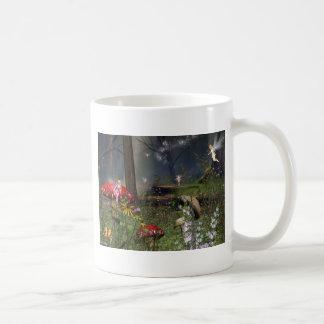Feenhafter Wald Kaffeetasse