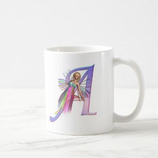 Feenhaftes Alphabet - beschriften Sie A Kaffeetasse
