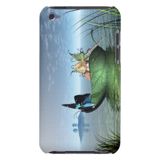 Feenhaftes Schmetterlings-Boot Barely There iPod Cover
