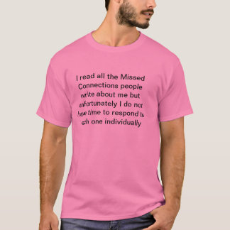 Fehlende Verbindungen T-Shirt