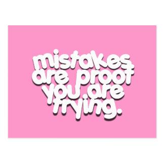 Fehler prüfen Sie, dass inspirierend postca versuc Postkarten