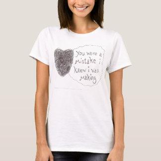 Fehler wert die Herstellung T-Shirt