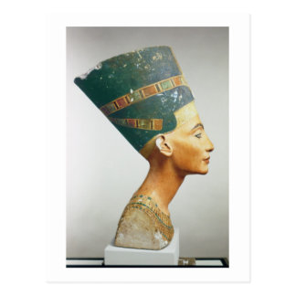 Fehlschlag der Königin Nefertiti, Seitenansicht, Postkarte