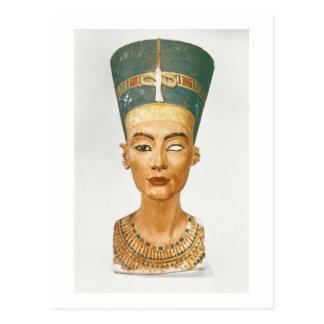 Fehlschlag der Königin Nefertiti, Vorderansicht, Postkarte