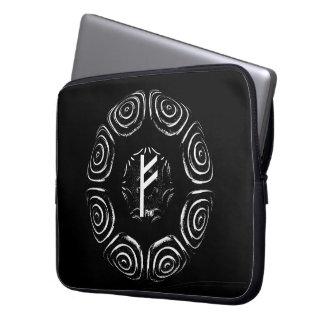☼Fehu - Rune des Glücks u. des Prosperity☼ Laptop Sleeve