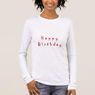 Feier - alles- Gute zum Geburtstagsammlung Langarm T-Shirt