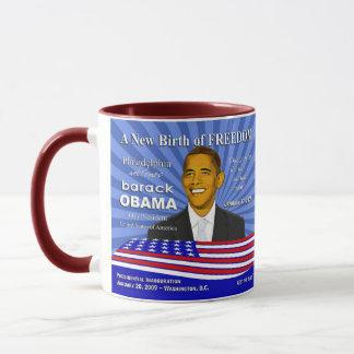 Feier Obama Philadelphia Pennsylvania Tasse