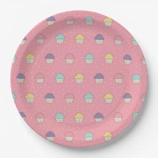 Feier-Party-mattierte Kuchen-Lieblinge Pappteller