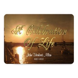 Feier von Leben Einladung