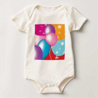 Feiern Celeberations Baloons Baby Strampler