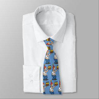 Feiern der Mann- und Kuchen-Krawatte Krawatte