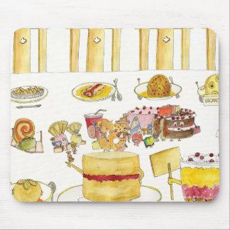 Feiern der Pudding-Diversity-lustigen schrulligen Mousepads