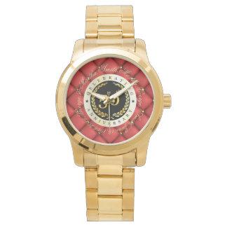 Feiern des 50. Jahrestages. Kundengerecht Armbanduhr