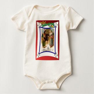 Feiern des Erntedanks Baby Strampler
