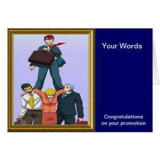 Feiern einer Werbeaktion Grußkarte