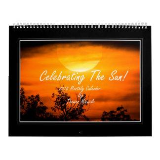 Feiern Monatskalenders The Suns 2018 Kalender