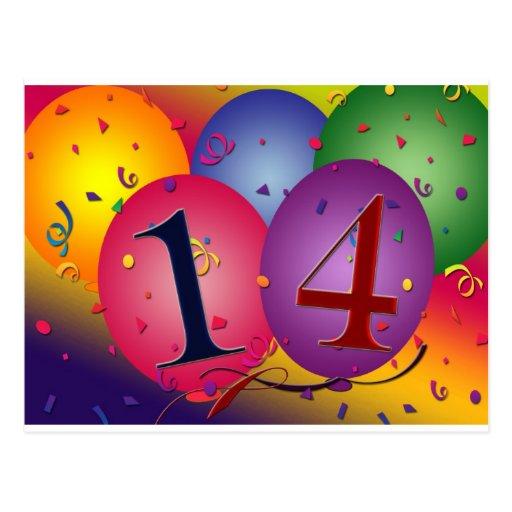 14 Geburtstag