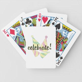 Feiern Sie Bicycle Spielkarten