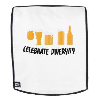 Feiern Sie Bier-Diversity-lustige Rucksack