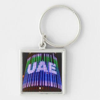 Feiern Sie die UAE Schlüsselanhänger