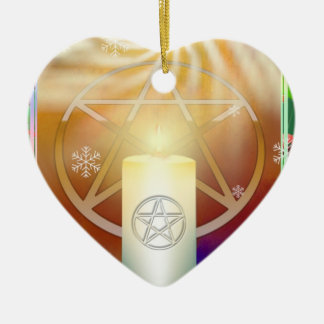 Feiern Sie die Wärme des Weihnachtens Sun Keramik Ornament