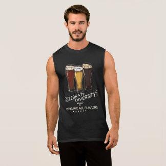 Feiern Sie Diversity-Bier-Liebhaber Ärmelloses Shirt
