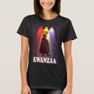 Feiern Sie Kwanzaa, Dame mit einem Korb T-Shirt