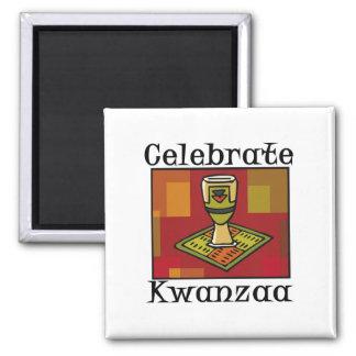 Feiern Sie Kwanzaa Kühlschrankmagnete