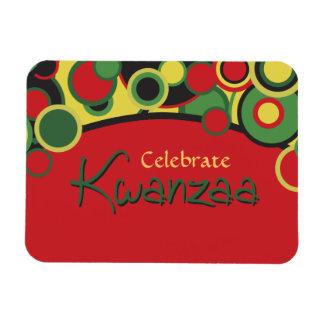 Feiern Sie Kwanzaa Flexibler Magnet