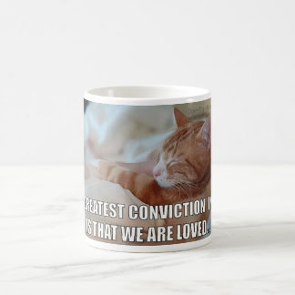 Feiern Sie LIEBE - bestste Überzeugung ist Kaffeetasse