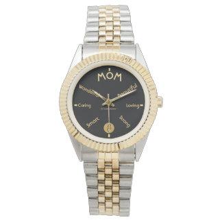 Feiern Sie Mamma Armbanduhr