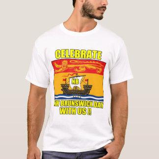 FEIERN SIE NEW-BRUNSWICK TAG MIT US T-Shirt