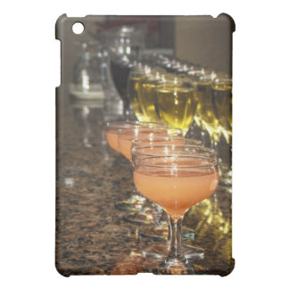 Feiern Sie - orange Girly Getränke in den iPad Mini Hülle