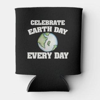Feiern Sie Tag der Erde jeden Tag Dosenkühler