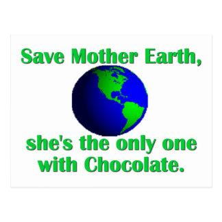 Feiern Sie Tag der Erde Postkarte