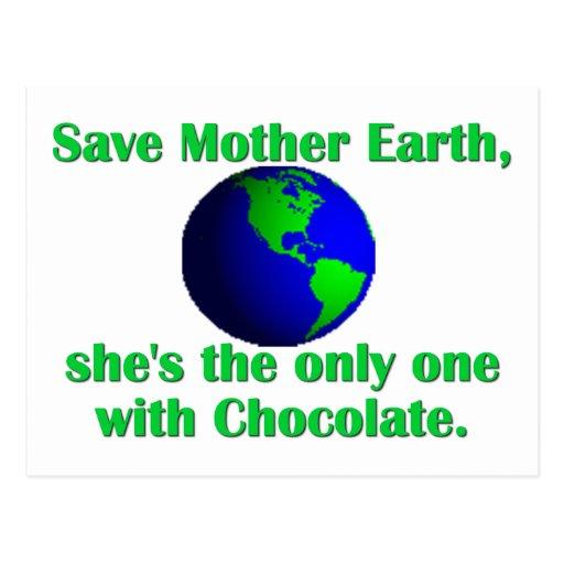Feiern Sie Tag der Erde Postkarten