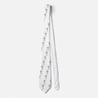 Feiern Sie Tag des Baums Bedruckte Krawatte