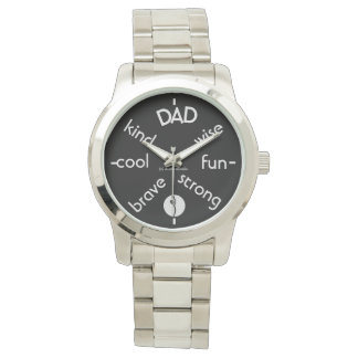 Feiern Sie Vati Armbanduhr