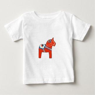Feiertag Dala Pferd Baby T-shirt