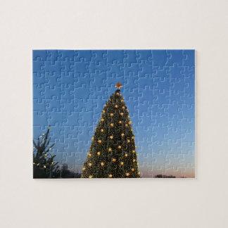 Feiertag der großer und wenig Weihnachtsbaum-I in Puzzle