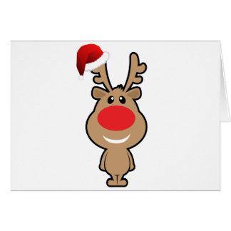Feiertag des lustigen Weihnachten Sankt Grußkarte
