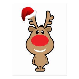 Feiertag des lustigen Weihnachten Sankt Postkarten