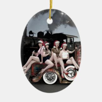 Feiertag jubelt Button Ratten-Rod Sankt herauf Keramik Ornament