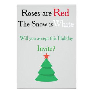 Feiertag laden Gedicht ein 8,9 X 12,7 Cm Einladungskarte