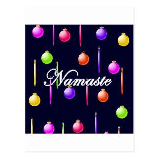 Feiertag Namaste Geschenke Postkarte