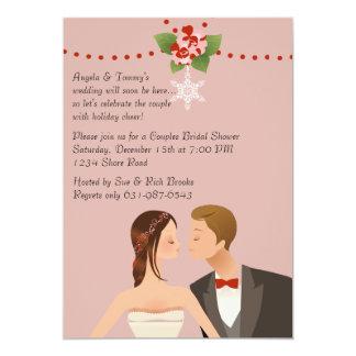 Feiertag verbindet Brautparty-Einladung 12,7 X 17,8 Cm Einladungskarte